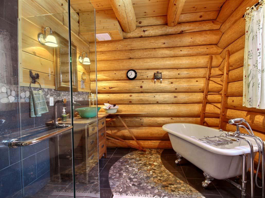 Salle de bain Chalet Godendard