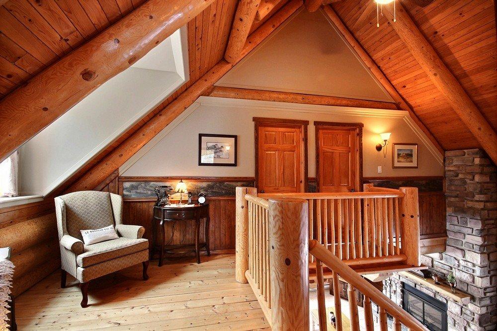 Salle de séjour Chalet Le Grand-Pic