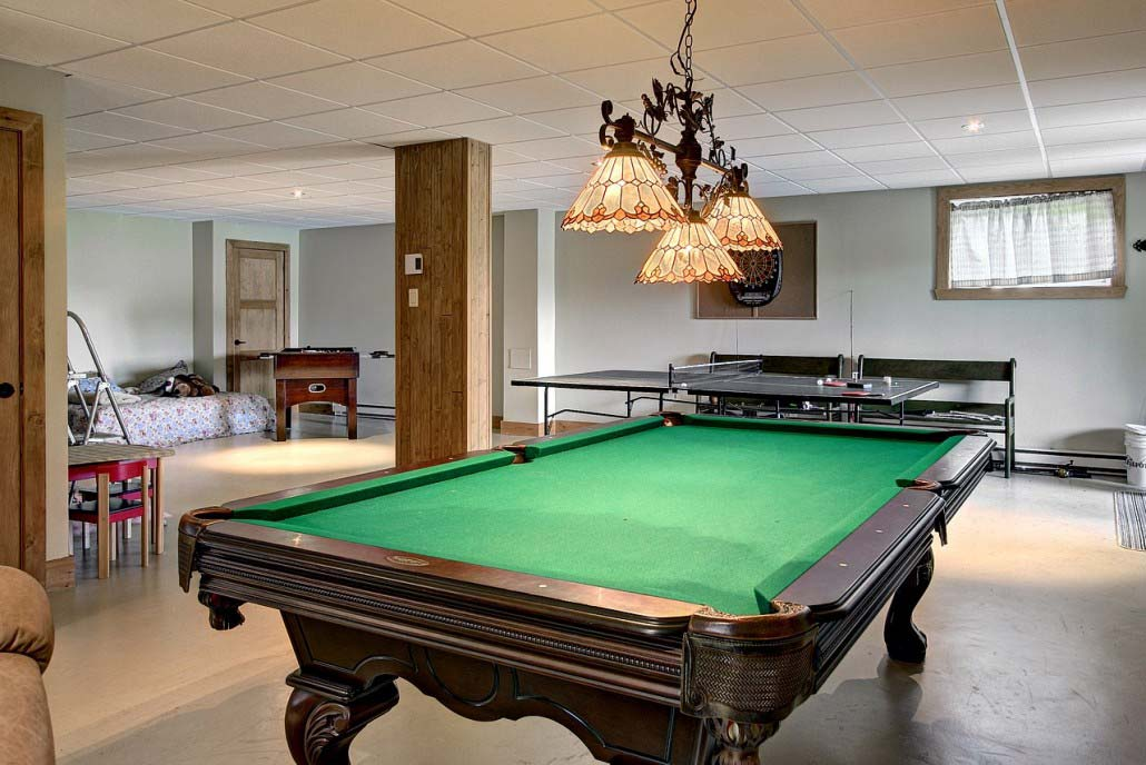 Table de billard Chalet Havre de paix
