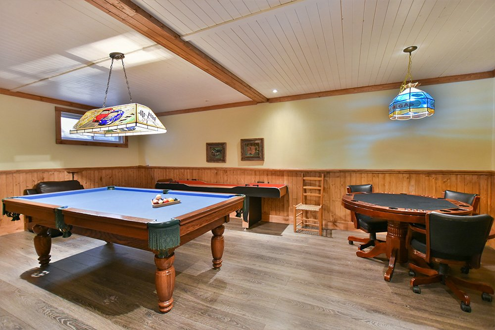 Table de billard Chalet Le Huard