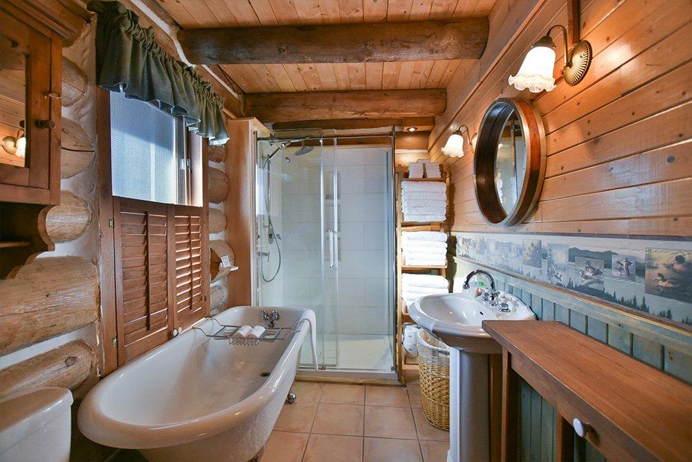 Salle de bain Chalet Le Huard