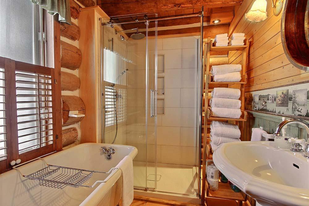 Salle de bain-1 Chalet Le Huard