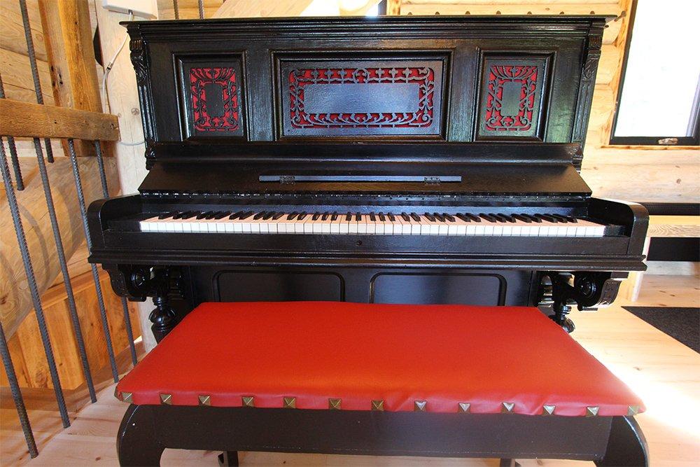 Piano Chalet Légende