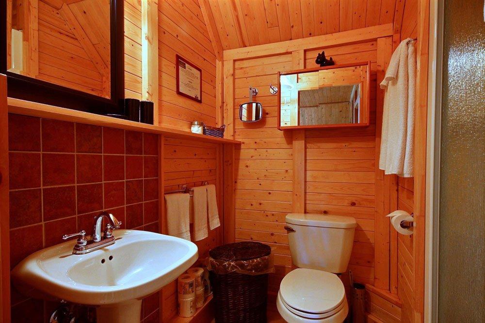 Salle de bain Chalet Le Loup-Blanc