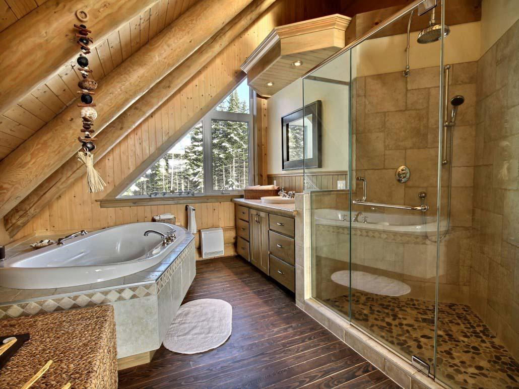 Salle de bain Chalet Loup-Cervier