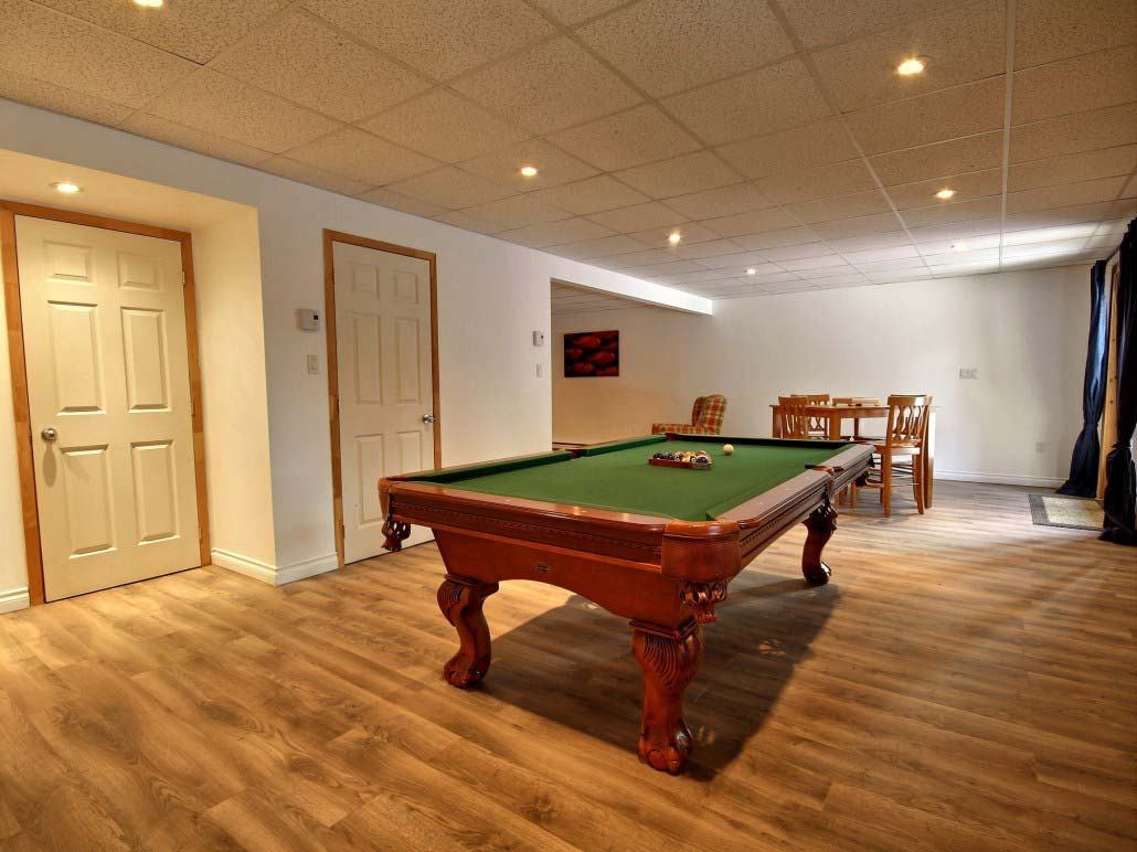 Table de billard Chalet Loup-Cervier