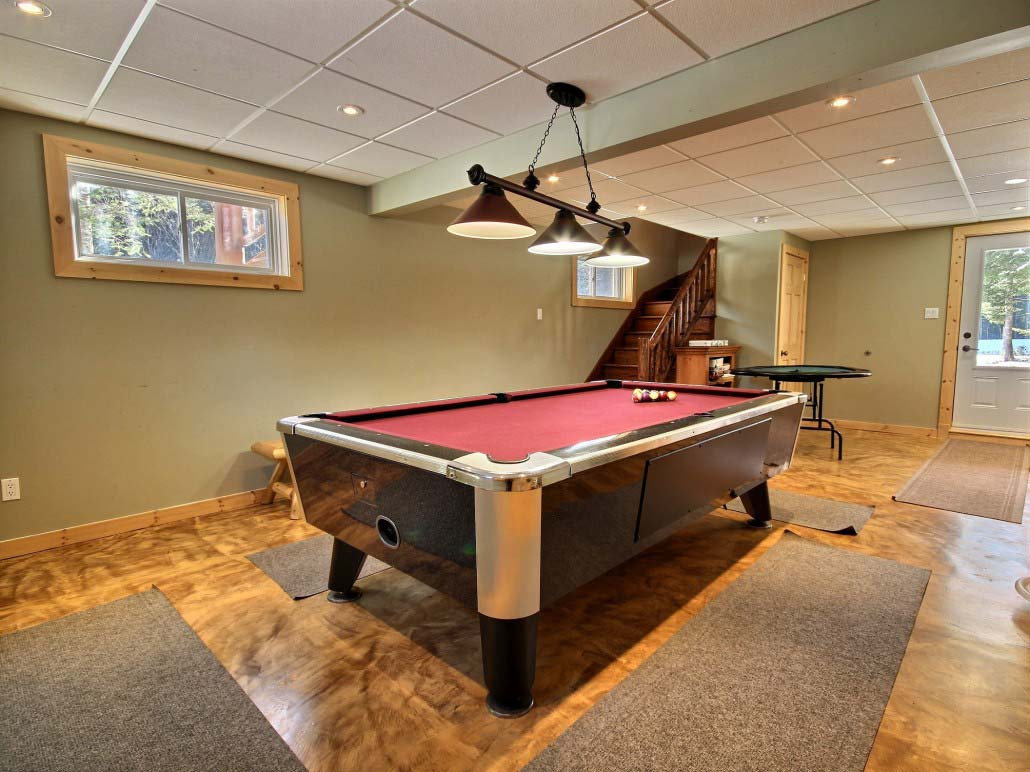 Table de billard Chalet La Loutre