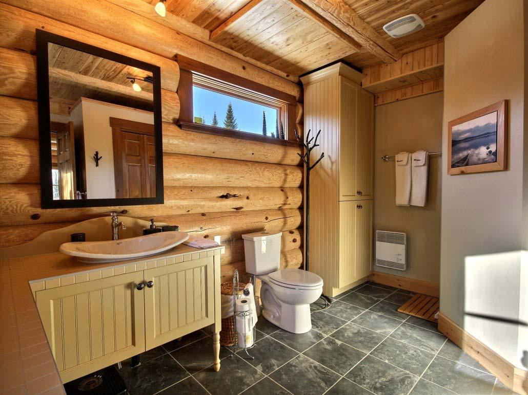Salle de bain Chalet Inukshuk