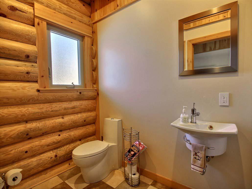 Salle de bain Chalet Marmottes