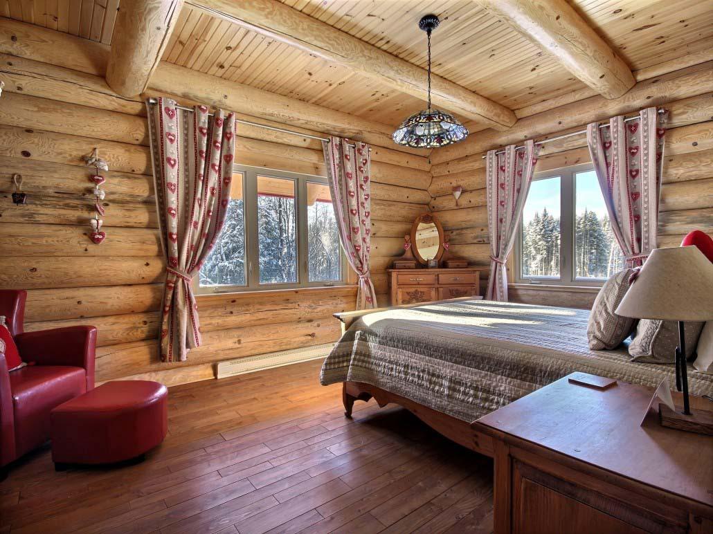 Chambre des maîtres Chalet Marmottes