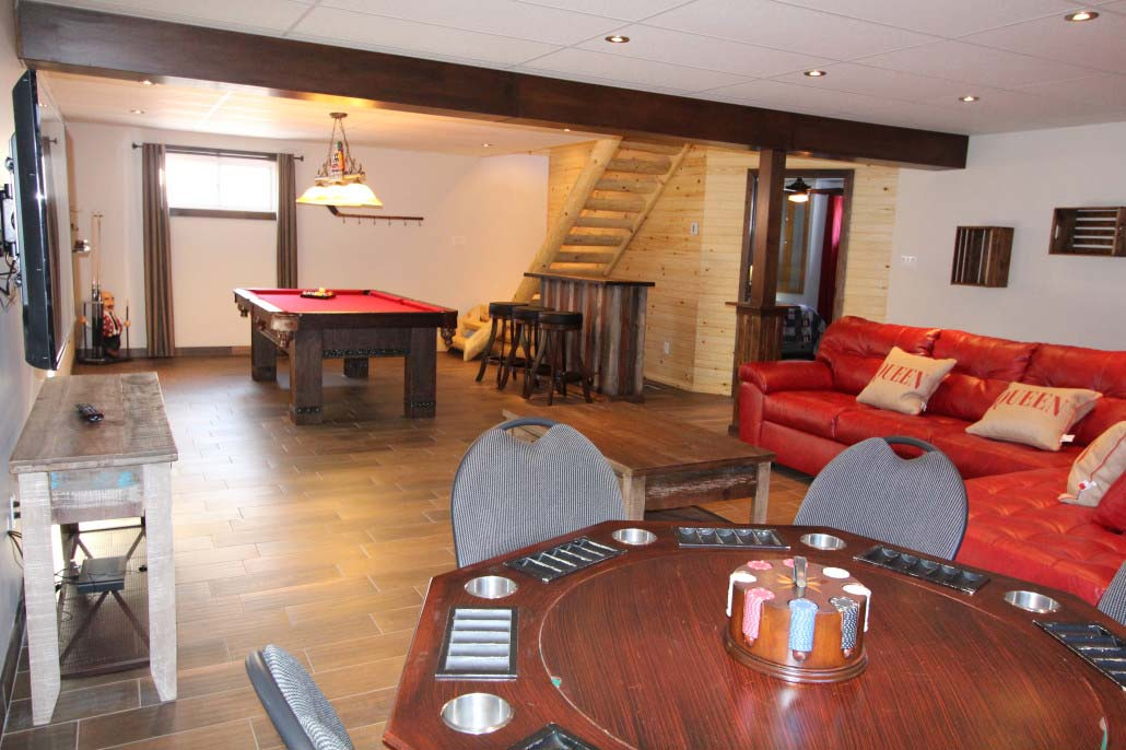Table à poker Chalet Le Mustang