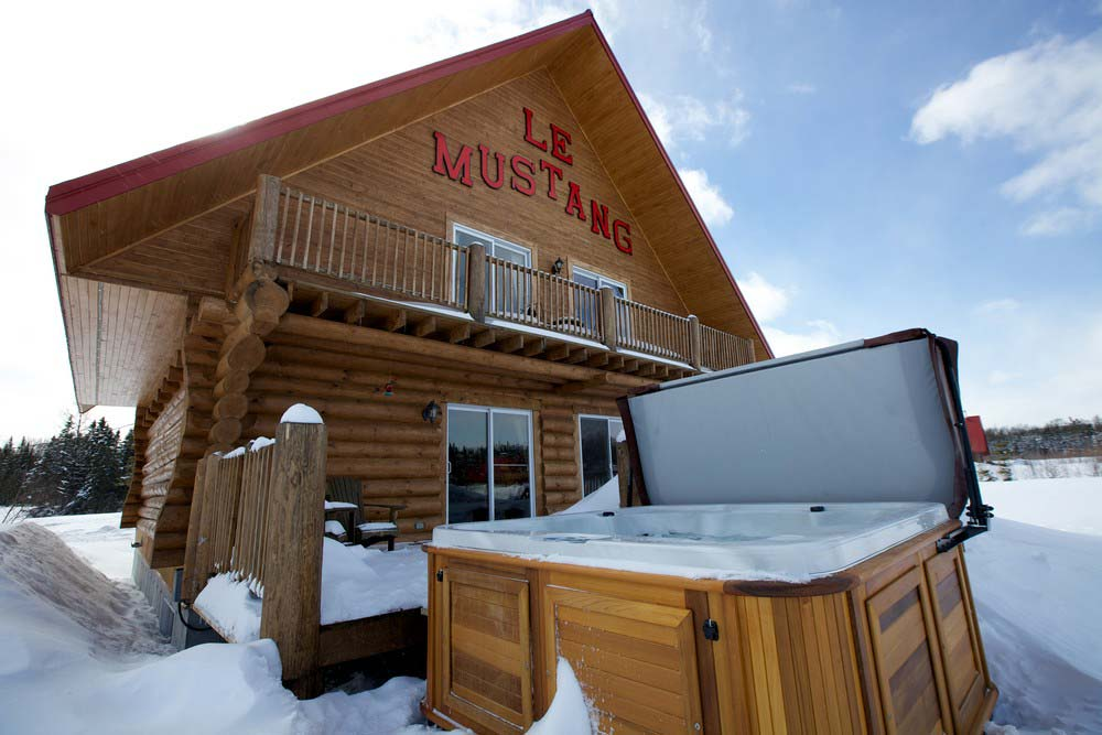 Spa Chalet Le Mustang