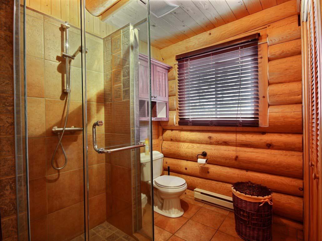 Salle de bain Chalet Le Mustang