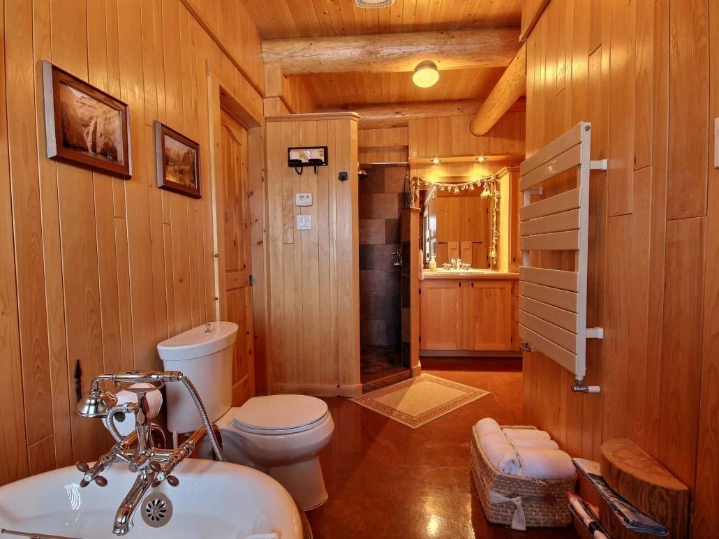 Salle de bain Chalet Natif