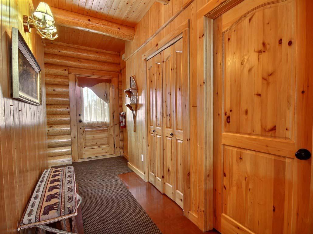 Hall d'entrée Chalet Natif