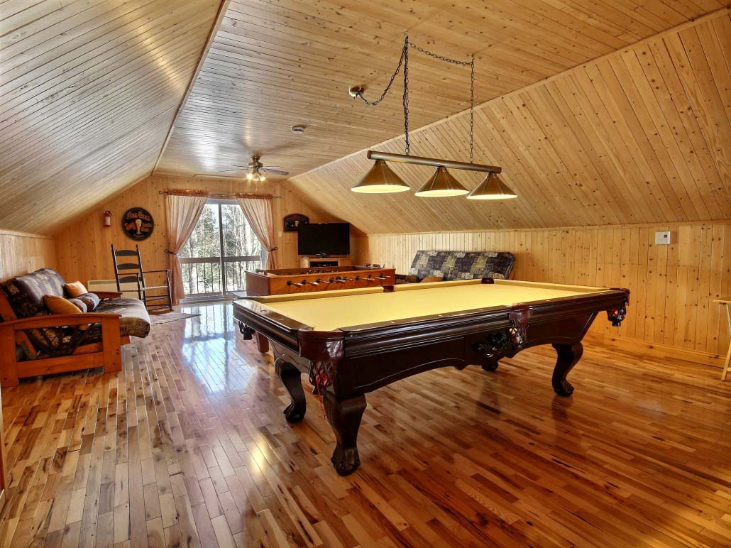 Table de billard Chalet Nirvana