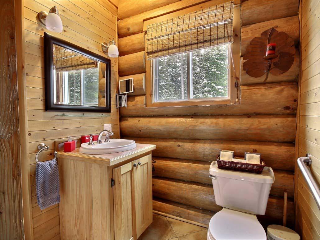 Salle de bain Chalet Le Nordet