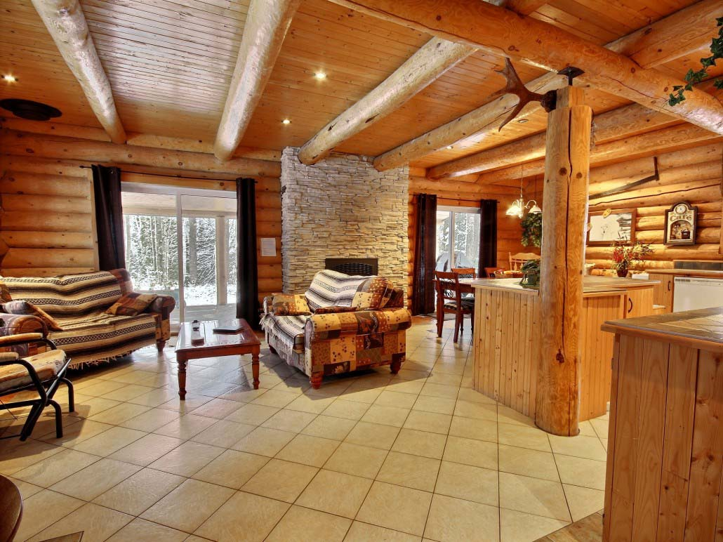 Salle principale Chalet Ours Blanc