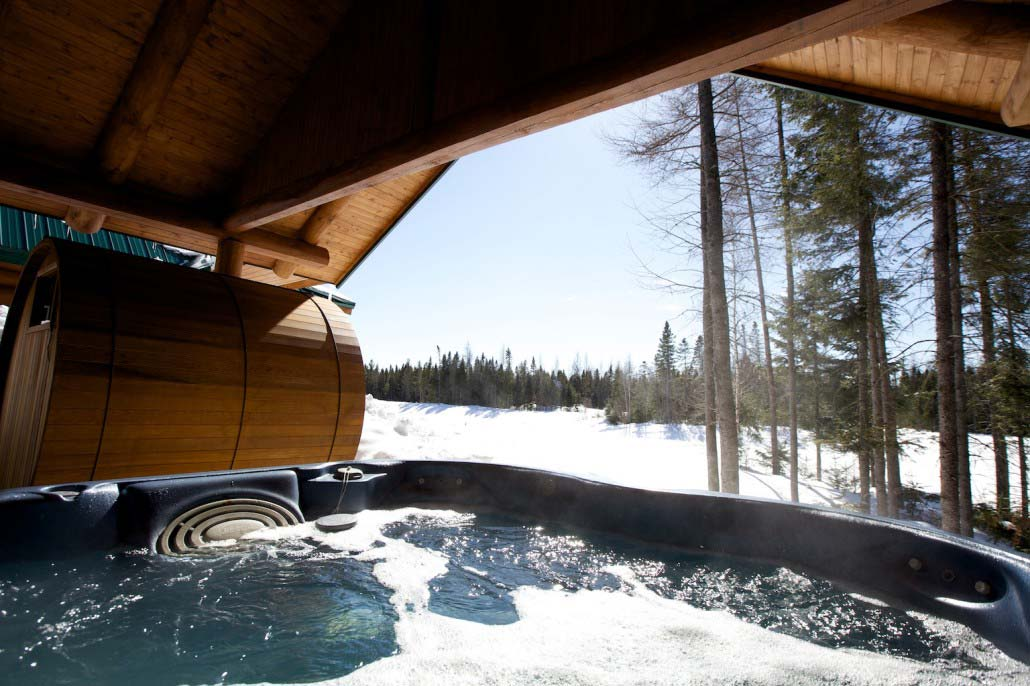 Spa Chalet Ours Noir
