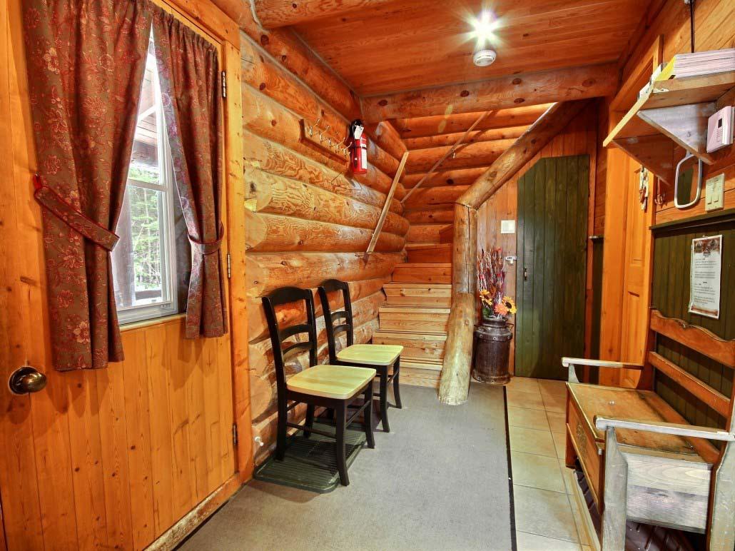 Hall d'entrée Chalet Refuge