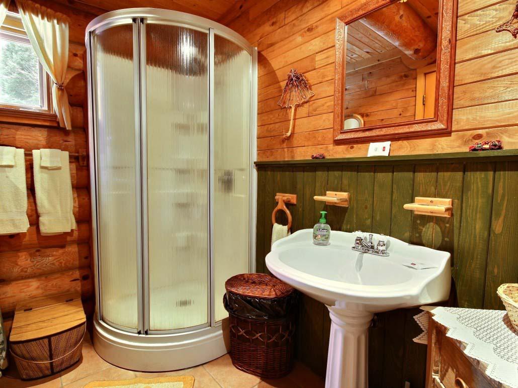 Salle de bain Chalet Refuge
