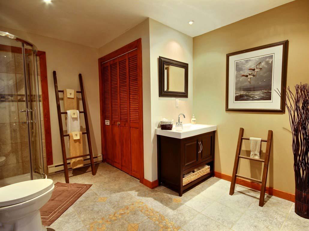 Salle de bain Chalet Sitelle