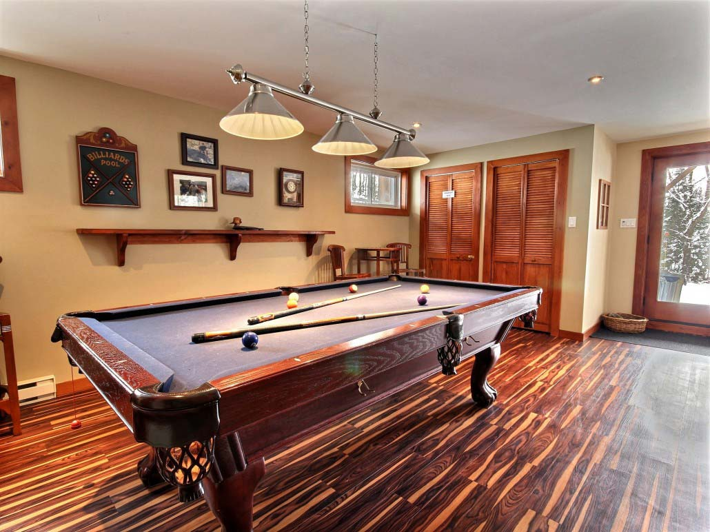 Table de billard Chalet Sitelle