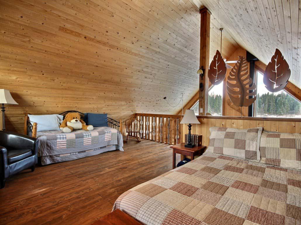 Chambre Mezzanine Chalet Triskel
