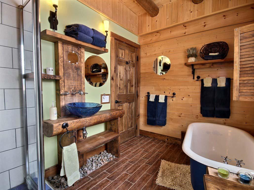 Salle de bain Chalet Triskel