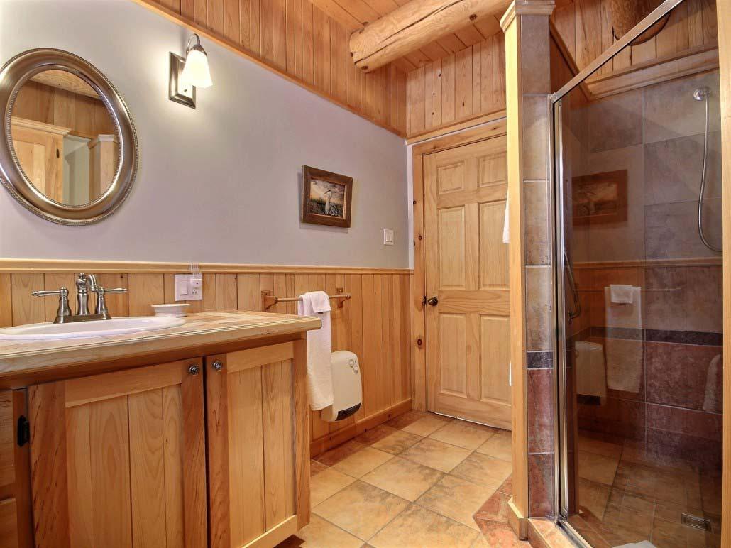 Salle de bain Chalet Le Wapitik