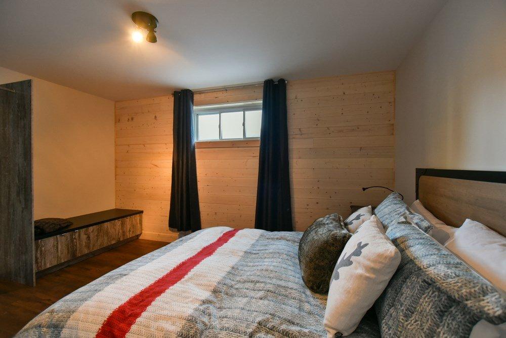 Chalet en bois rond Le Panache - Chambre-5