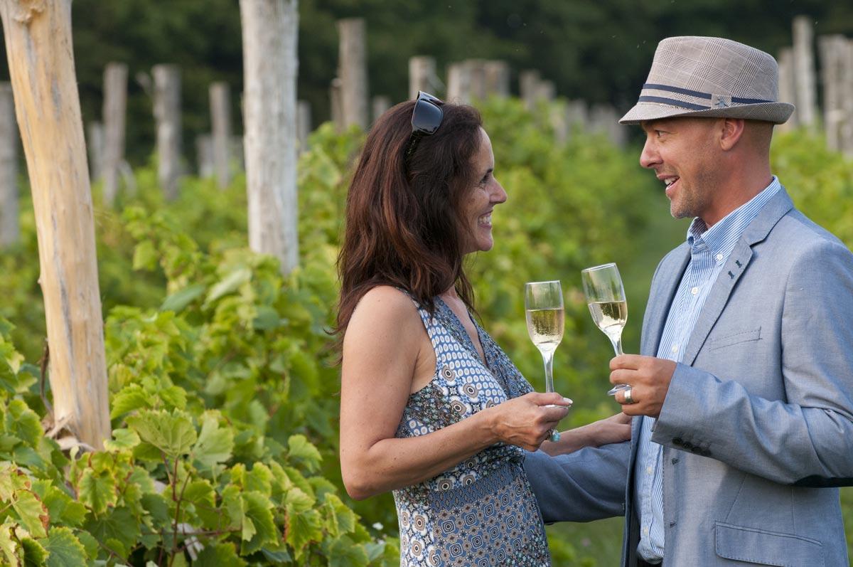 La route des vins, Cantons-de-l'Est