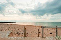 La plage d'Inverness, NS