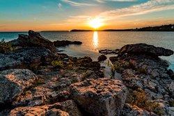 Coucher de soleil sur la baie Georgienne