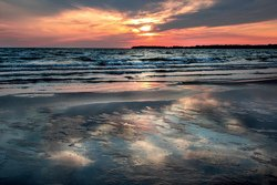 Sunset on Lake Ontario