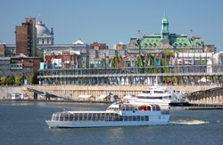 Bateau-Mouche Cruise, Old Port of Montreal