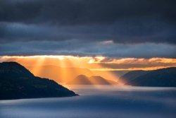 Fjord du Saguenay au crépuscule