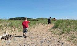 Randonnée jusqu'à l'Île Boudreau