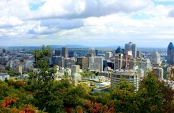 Montreal, view from Kondiaronk scenic lookout