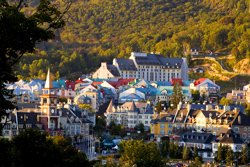 The picturesque village of Mont-Tremblant