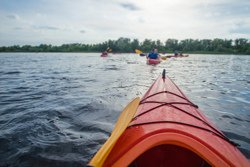 Aventure sur l'eau en kayak