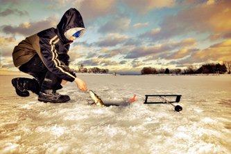 Pêche sur glace