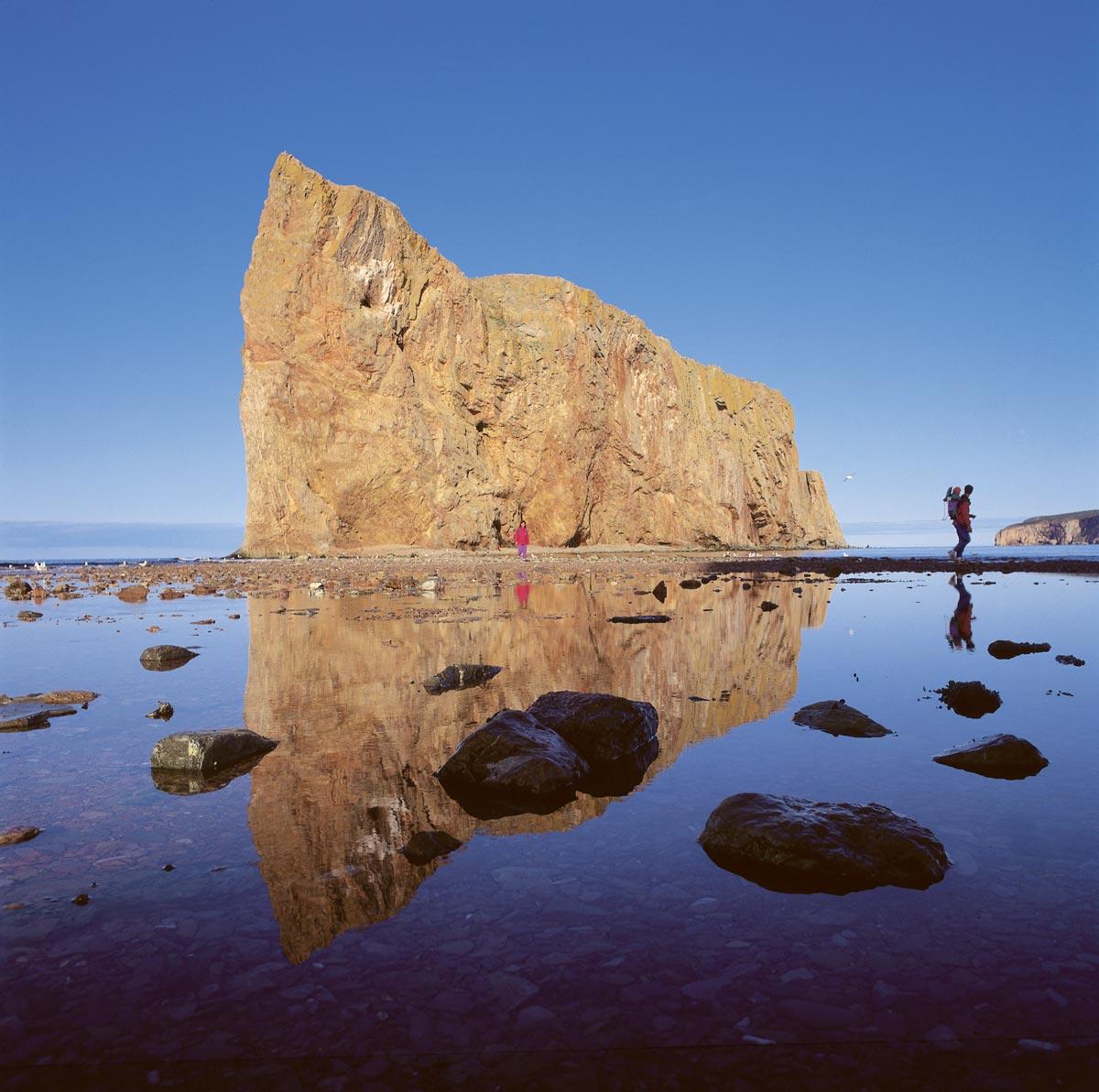Rando au pied du rocher Percé