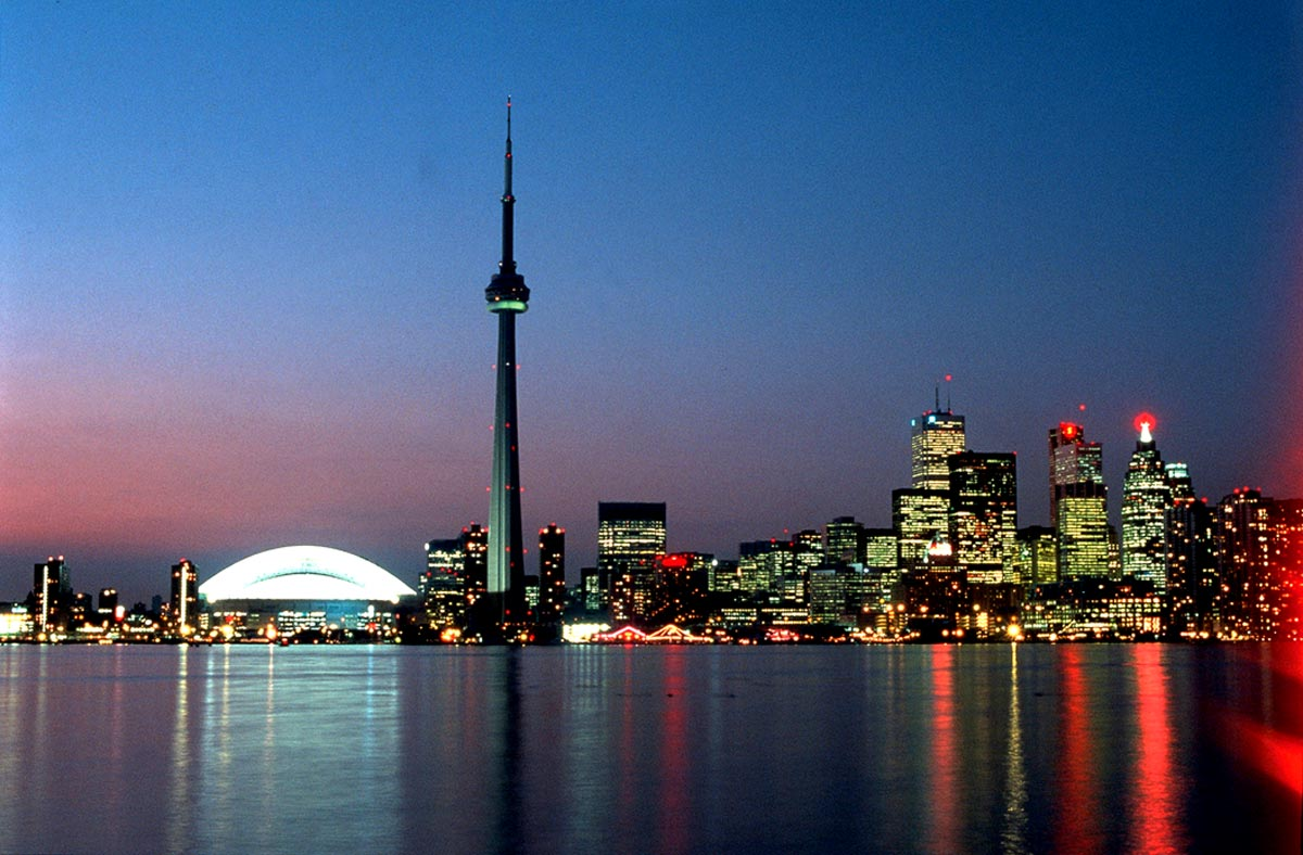 Toronto by-night
