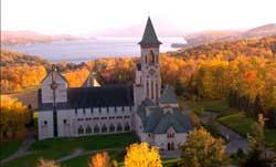 L'Abbaye St-Benoit-du-Lac, Magog