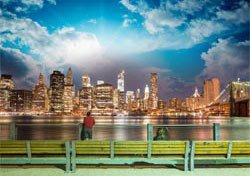 New York depuis le Brooklyn Bridge park