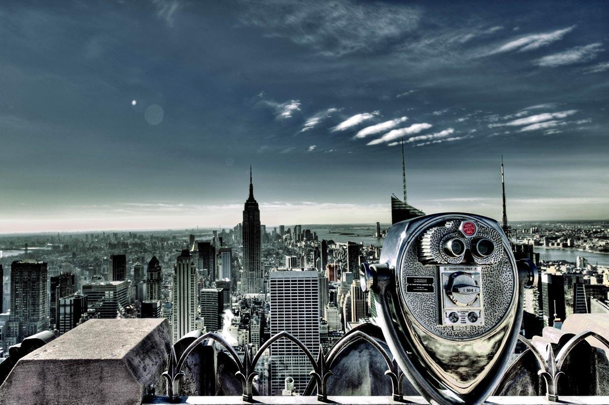 Vue Top of the Rock, Rockefeller Center