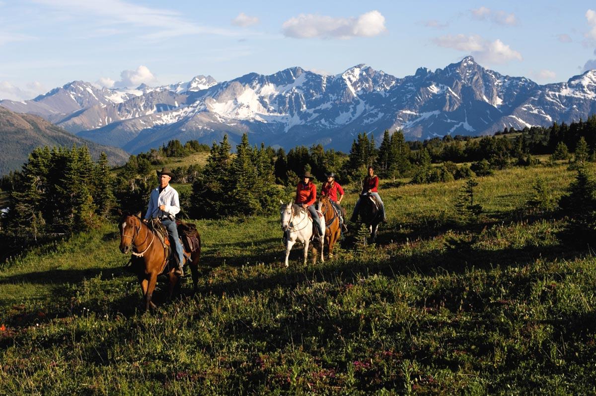 Équitation dans les Cariboos