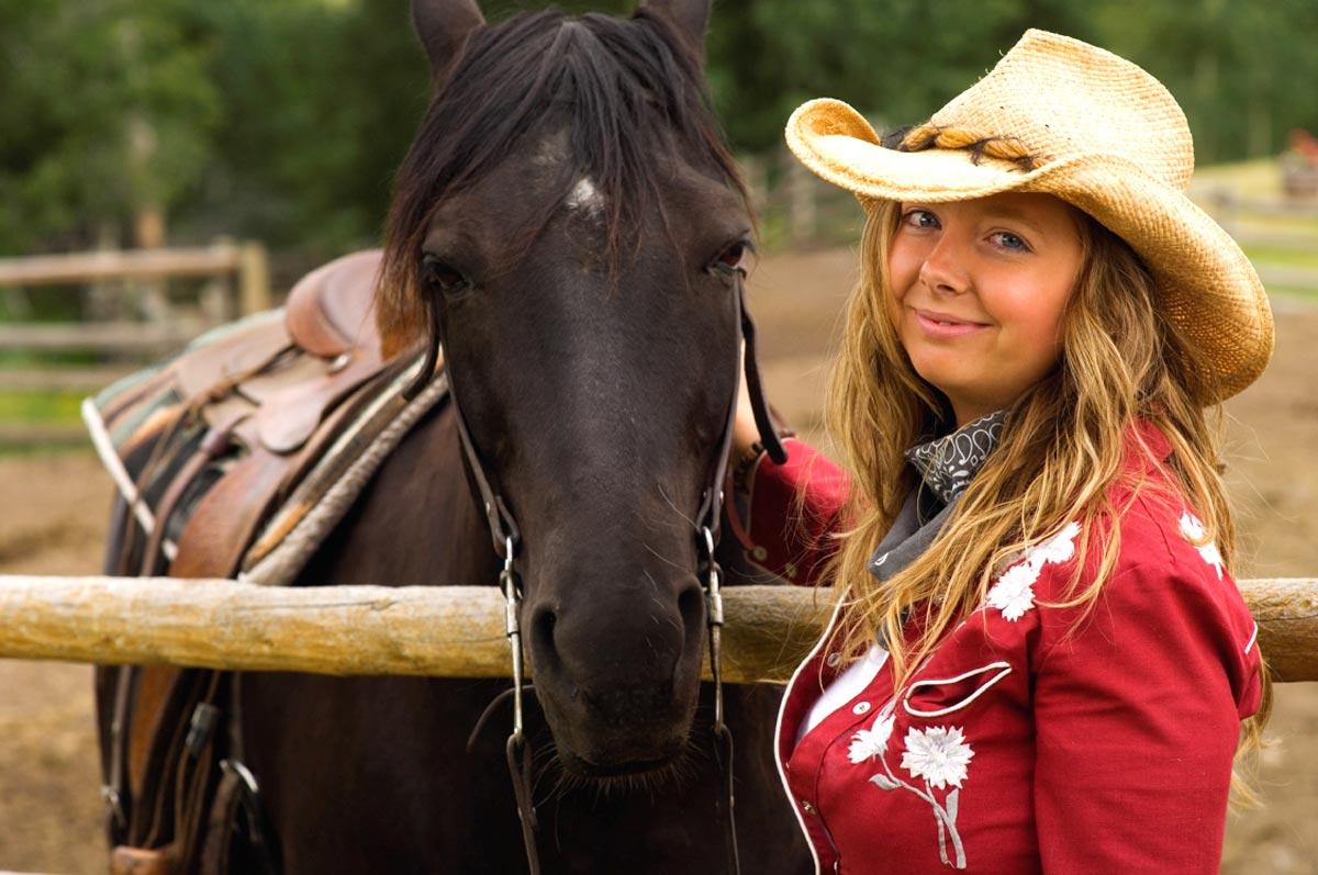 Jouer aux cowboys dans l'ouest