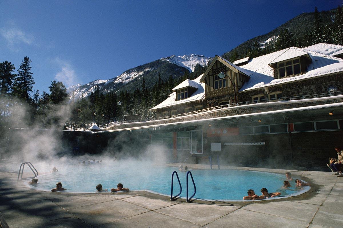 Upper Hot Springs, Banff